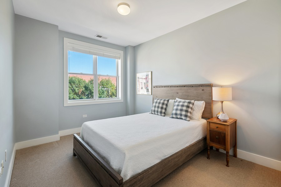 Real Estate Photography - 2771 W Francis Pl, 305N, Chicago, IL, 60647 - 3rd Bedroom