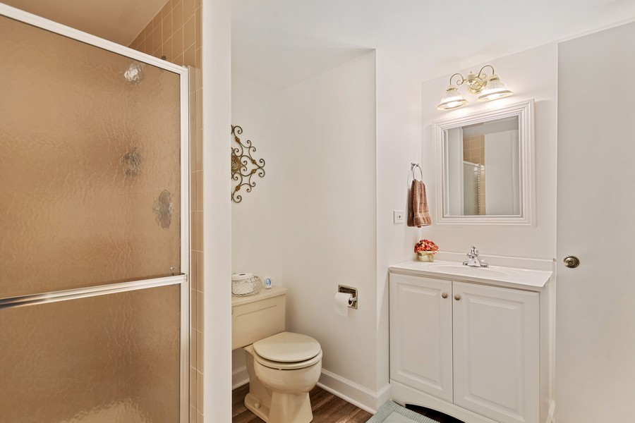 Real Estate Photography - 1860 Golf View Dr., Bartlett, IL, 60103 - 3rd Bathroom