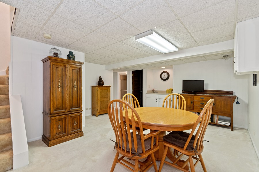 Real Estate Photography - 1860 Golf View Dr., Bartlett, IL, 60103 - Basement