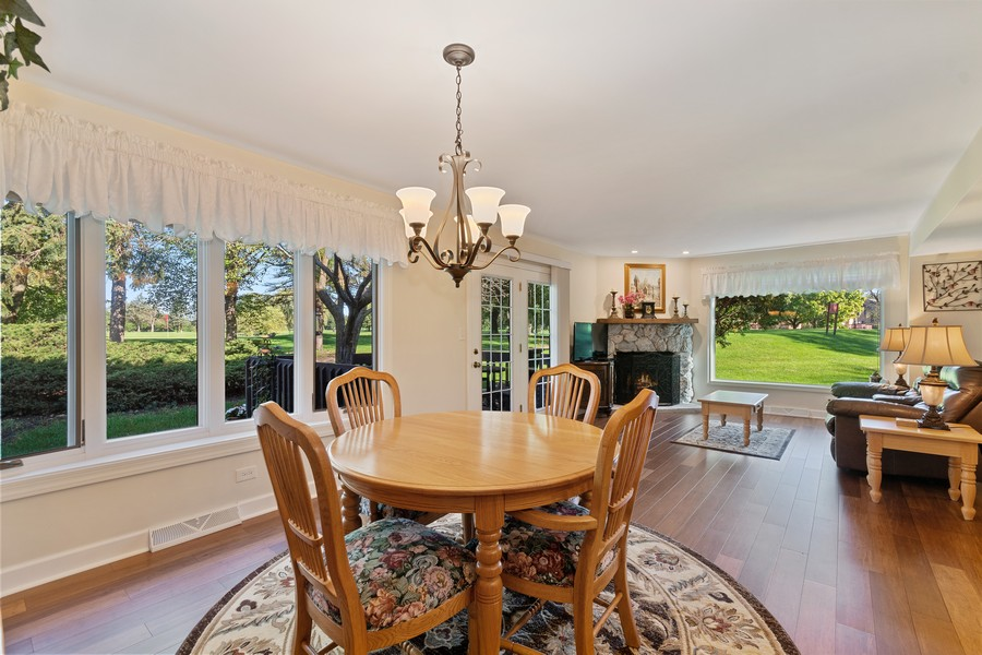 Real Estate Photography - 1860 Golf View Dr., Bartlett, IL, 60103 - Dining Room