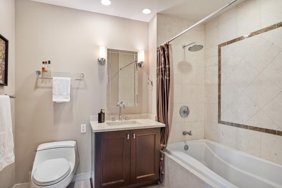 Real Estate Photography - 60 E Monroe unit 3106, Chicago, IL, 60603 - Master Bathroom