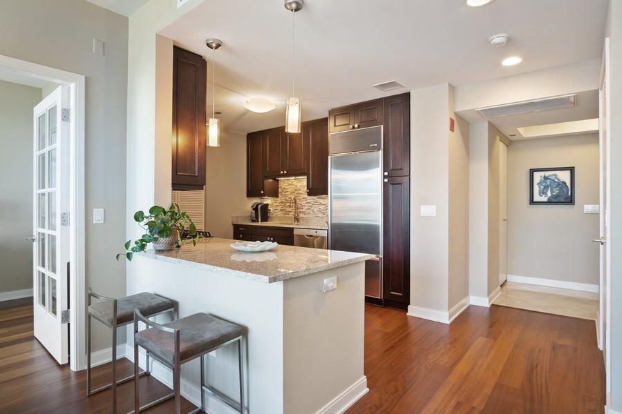 Real Estate Photography - 60 E Monroe unit 3106, Chicago, IL, 60603 - Kitchen