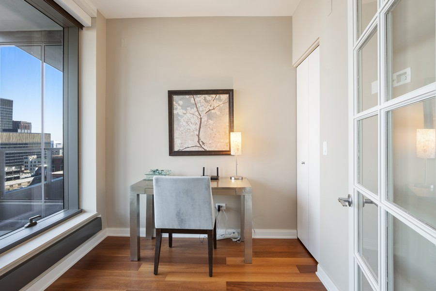 Real Estate Photography - 60 E Monroe unit 3106, Chicago, IL, 60603 - Office