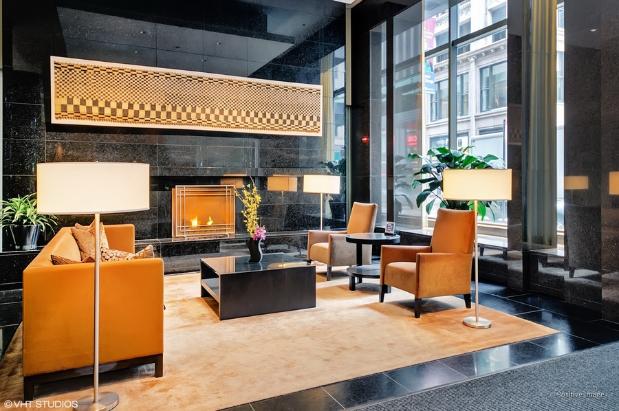 Real Estate Photography - 60 E Monroe unit 3106, Chicago, IL, 60603 - Lobby
