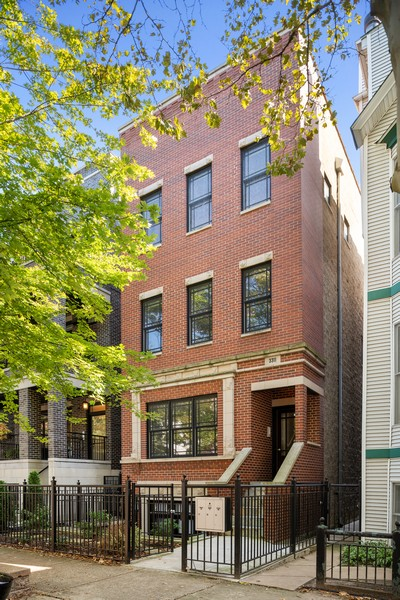 Real Estate Photography - 3311 N Kenmore, unit 3, Chicago, IL, 60657 - Front View