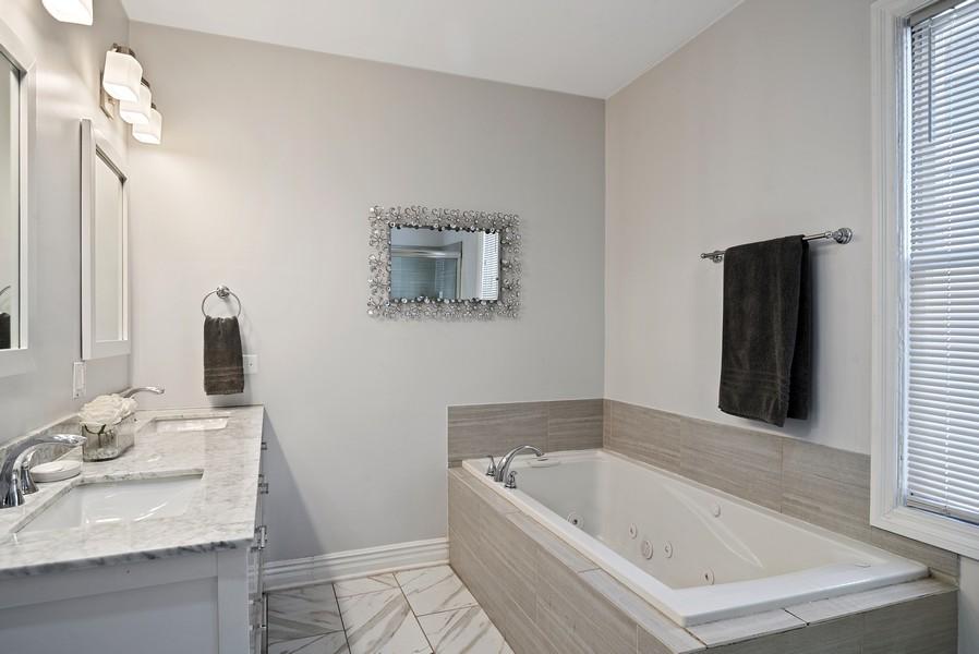 Real Estate Photography - 1427 W Fletcher, Chicago, IL, 60657 - Master Bathroom