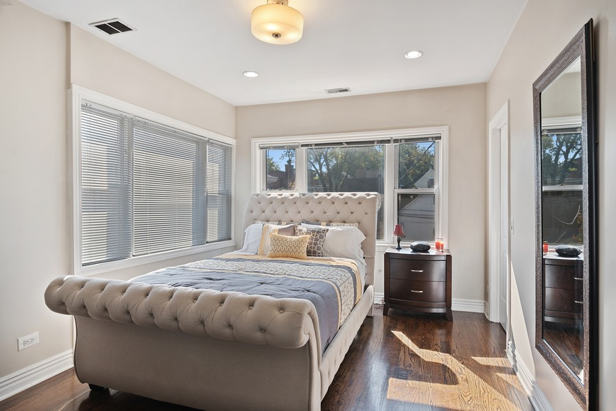Real Estate Photography - 1427 W Fletcher, Chicago, IL, 60657 - Master Bedroom