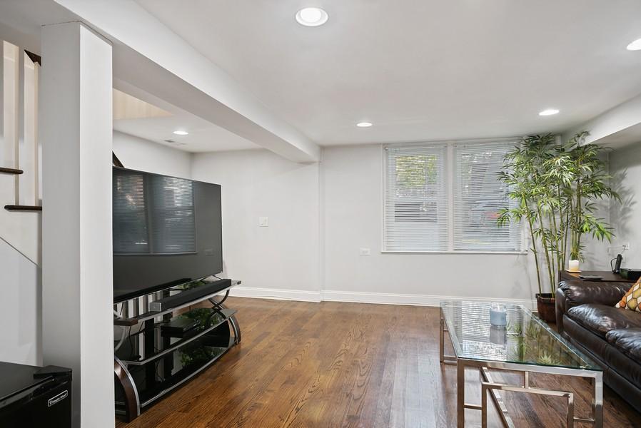 Real Estate Photography - 1427 W Fletcher, Chicago, IL, 60657 - Media Room