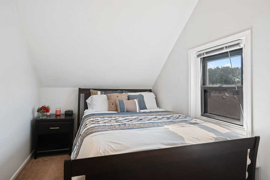 Real Estate Photography - 1427 W Fletcher, Chicago, IL, 60657 - 4th Bedroom