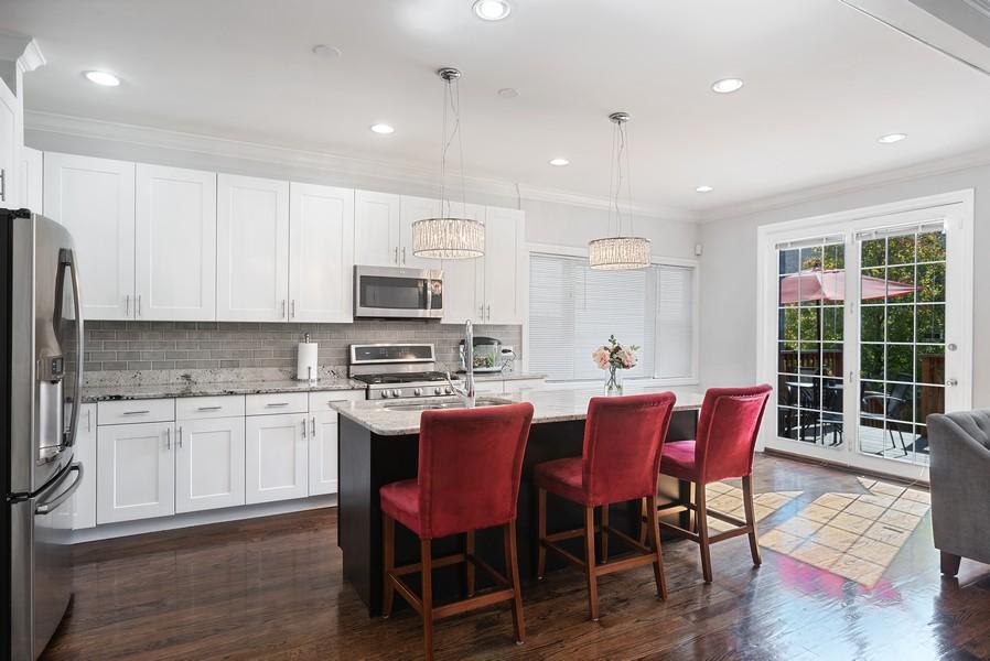 Real Estate Photography - 1427 W Fletcher, Chicago, IL, 60657 - Kitchen