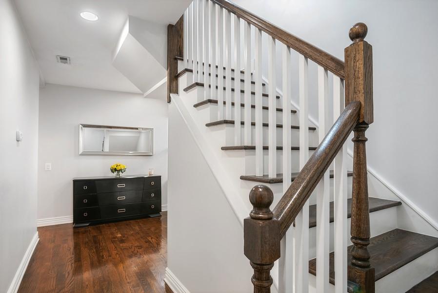 Real Estate Photography - 1427 W Fletcher, Chicago, IL, 60657 - Hallway