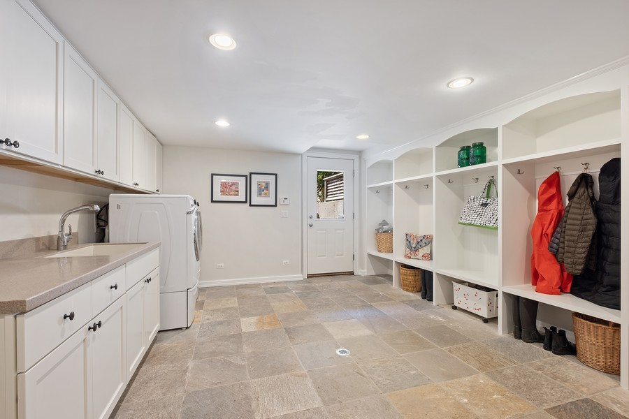 Real Estate Photography - 2754 Sheridan, Evanston, IL, 60201 - Mudroom