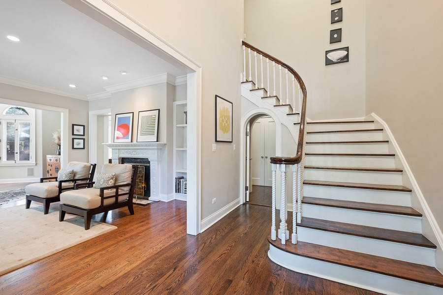 Real Estate Photography - 2754 Sheridan, Evanston, IL, 60201 - Foyer