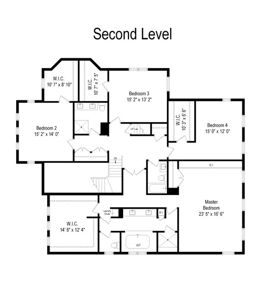 Real Estate Photography - 2754 Sheridan, Evanston, IL, 60201 - Floor Plan
