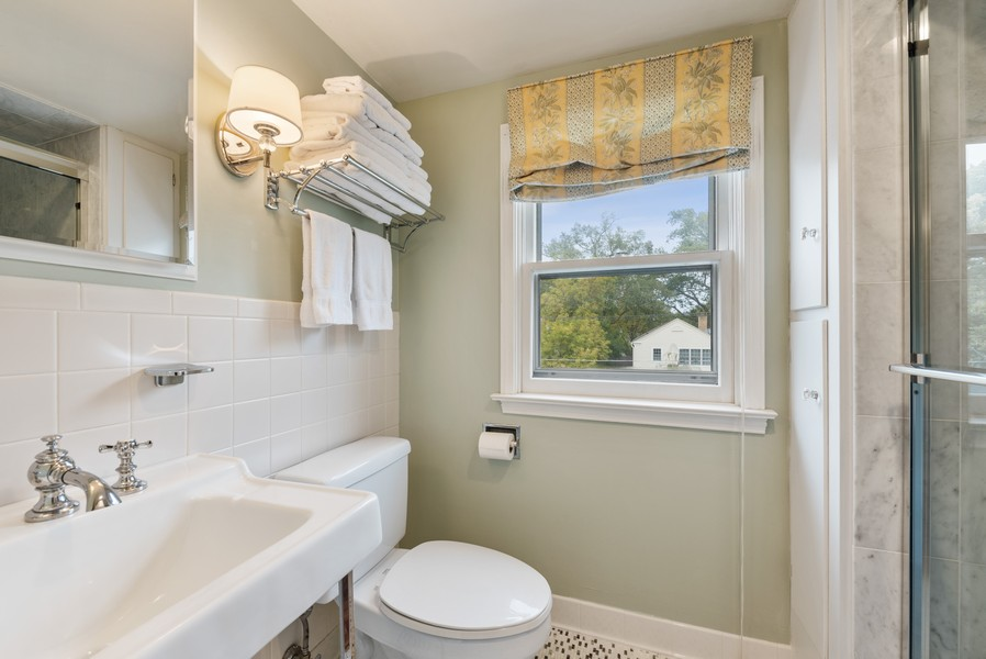 Real Estate Photography - 2154 Kenilworth Ave, Wilmette, IL, 60091 - 3rd Bathroom
