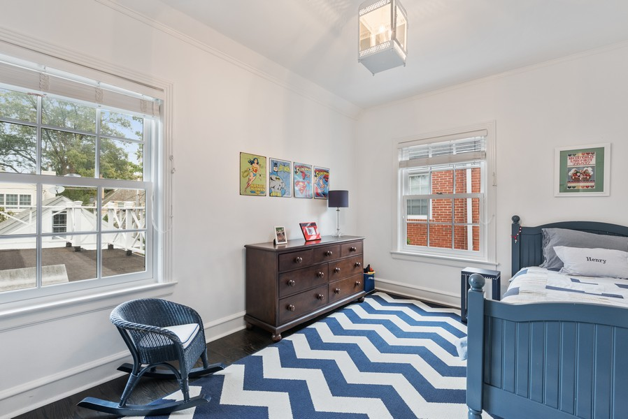 Real Estate Photography - 2154 Kenilworth Ave, Wilmette, IL, 60091 - 2nd Bedroom