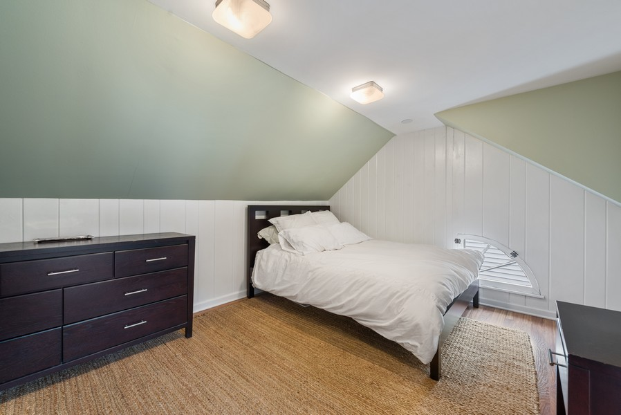 Real Estate Photography - 2154 Kenilworth Ave, Wilmette, IL, 60091 - 4th Bedroom