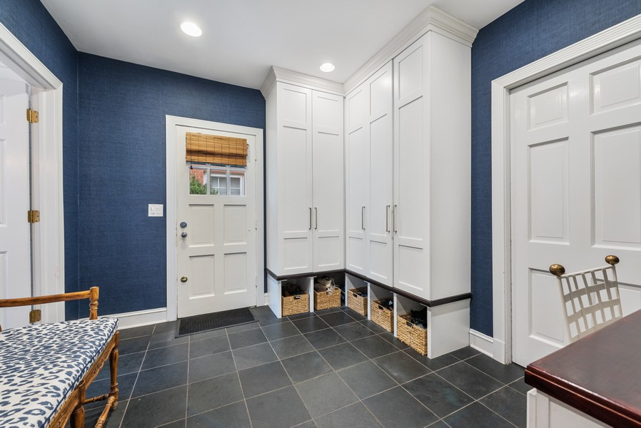 Real Estate Photography - 2154 Kenilworth Ave, Wilmette, IL, 60091 - Mudroom