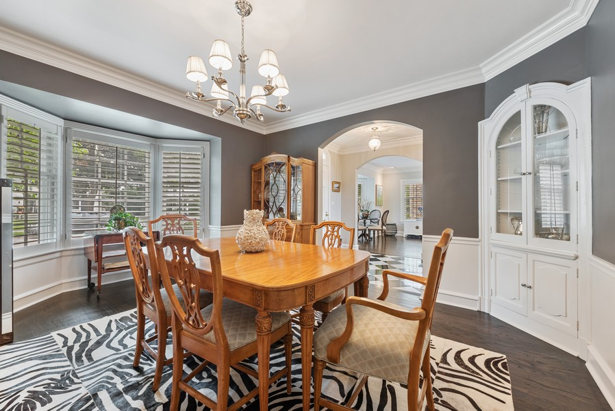 Real Estate Photography - 2154 Kenilworth Ave, Wilmette, IL, 60091 - Dining Room