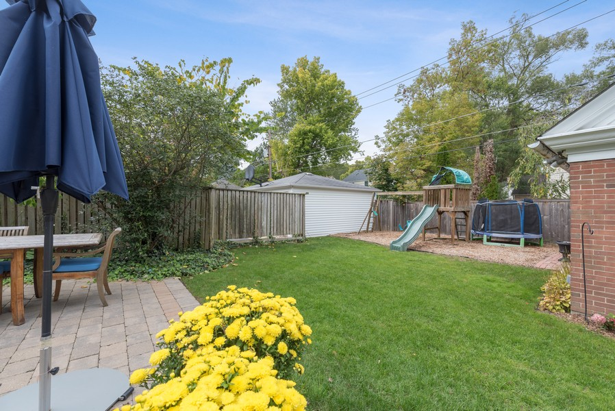 Real Estate Photography - 2154 Kenilworth Ave, Wilmette, IL, 60091 - Back Yard