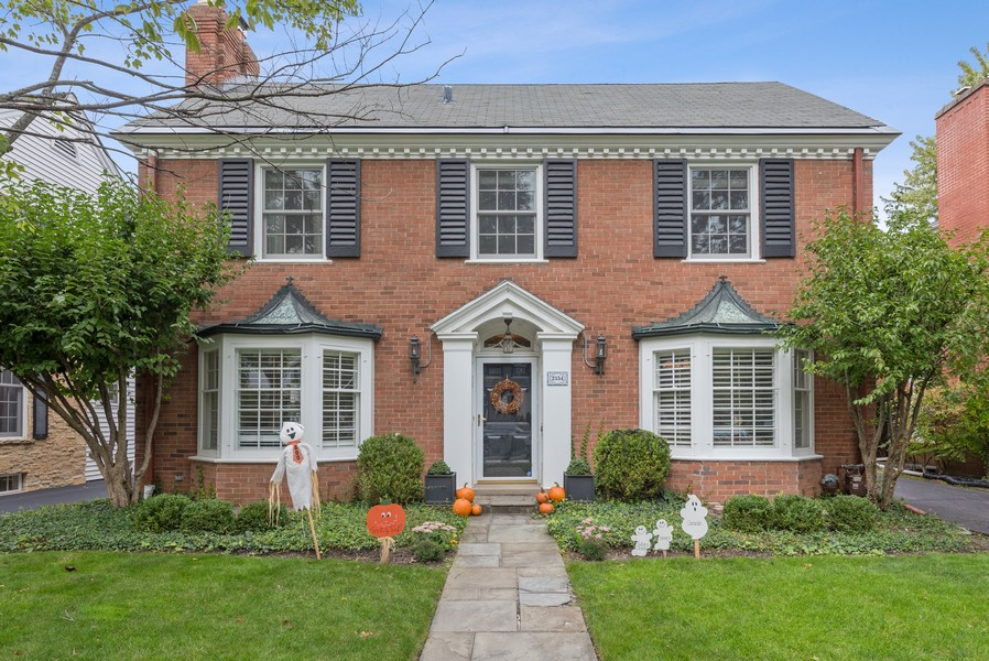 Real Estate Photography - 2154 Kenilworth Ave, Wilmette, IL, 60091 - Front View