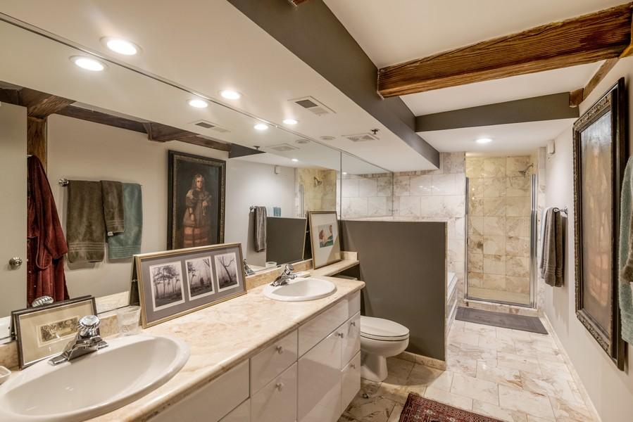 Real Estate Photography - 616 W Fulton, Unit 604, Chicago, IL, 60661 - Master Bathroom