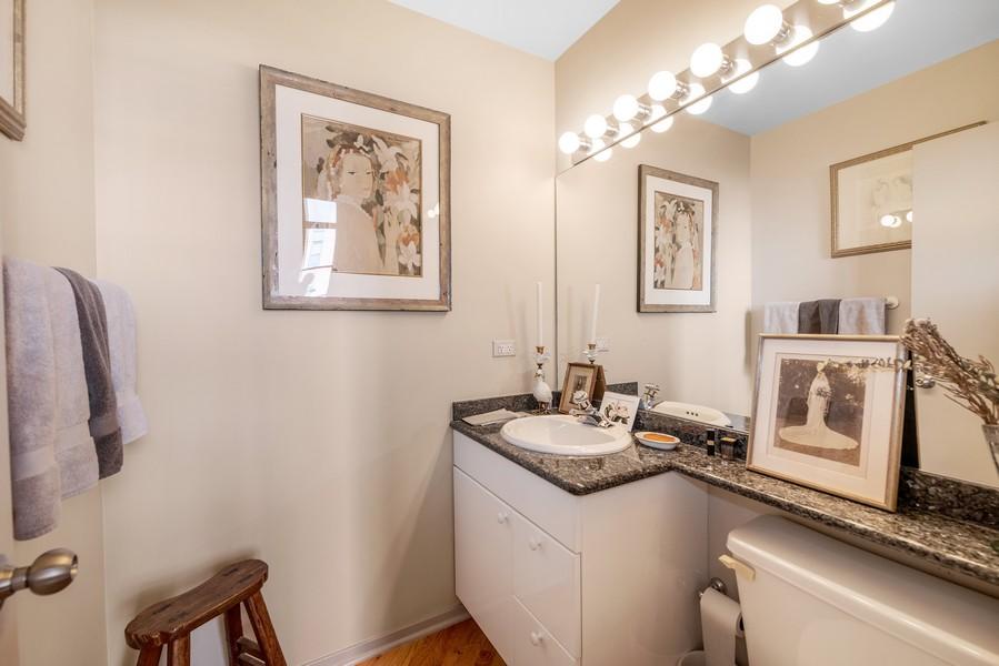 Real Estate Photography - 616 W Fulton, Unit 604, Chicago, IL, 60661 - Half Bath