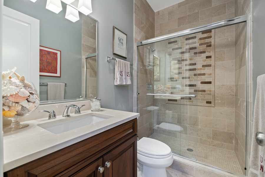 Real Estate Photography - 1938 N. Winchester, Chicago, IL, 60647 - 4th Bathroom