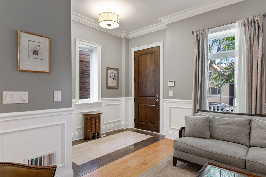 Real Estate Photography - 1938 N. Winchester, Chicago, IL, 60647 - Foyer