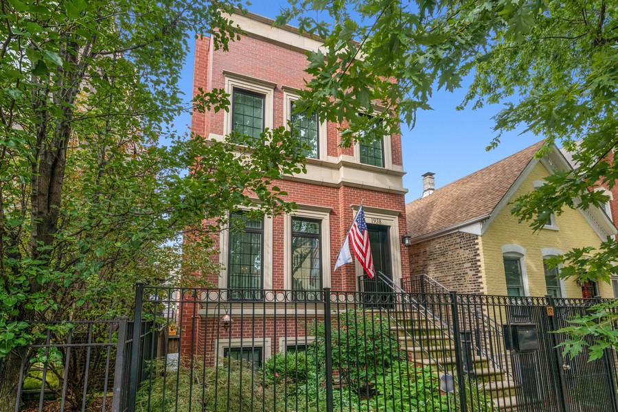 Real Estate Photography - 1938 N. Winchester, Chicago, IL, 60647 - Front View