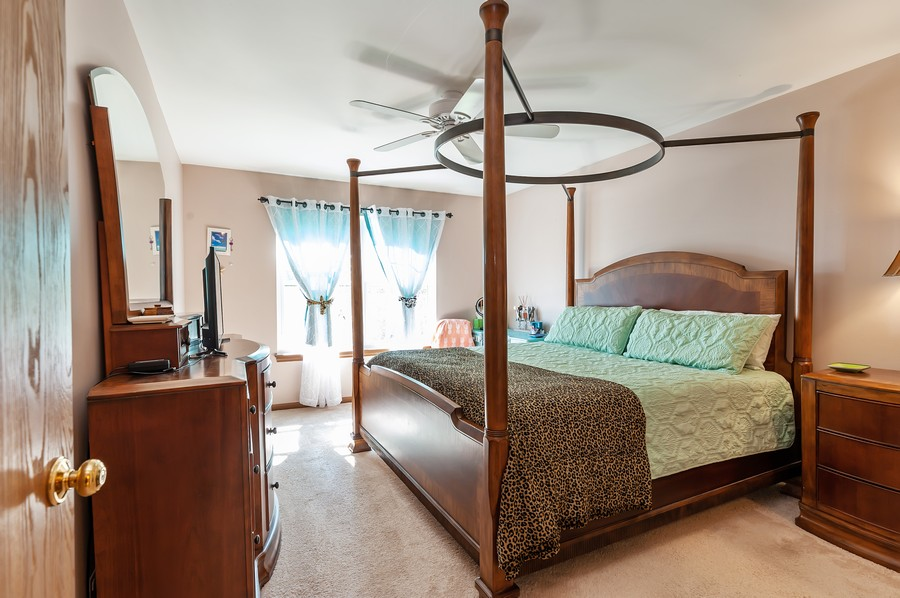 Real Estate Photography - 884 Fox Chase Drive, Round Lake Beach, IL, 60073 - 3rd Bedroom