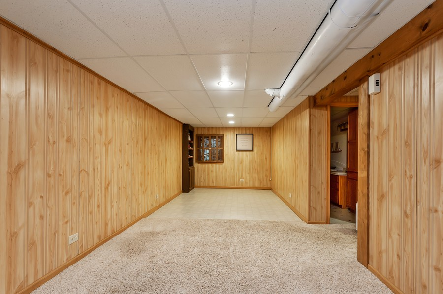 Real Estate Photography - 884 Fox Chase Drive, Round Lake Beach, IL, 60073 - Basement