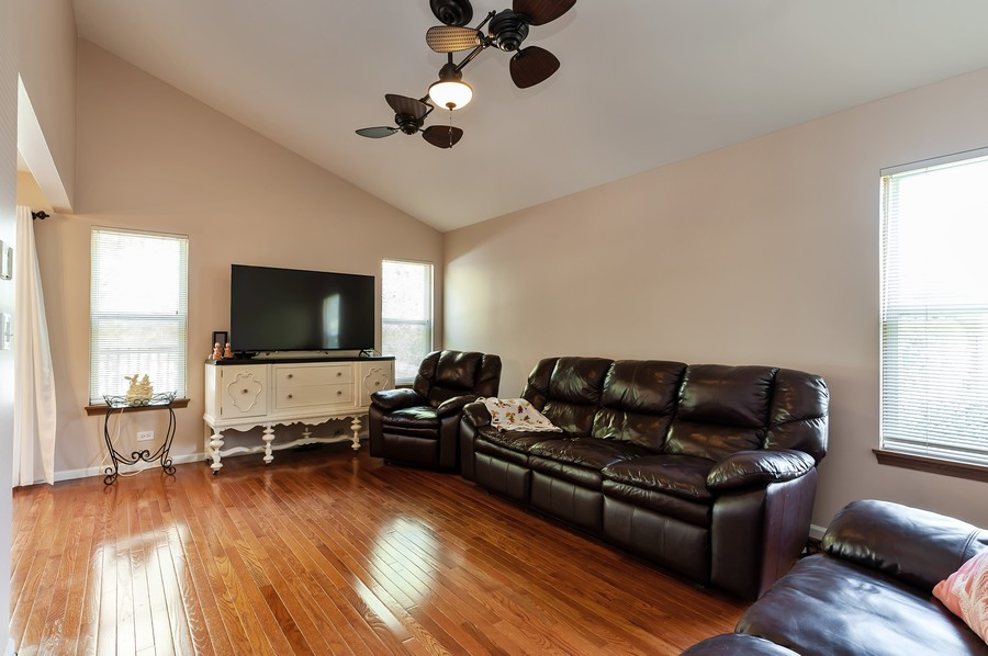 Real Estate Photography - 884 Fox Chase Drive, Round Lake Beach, IL, 60073 - Family Room