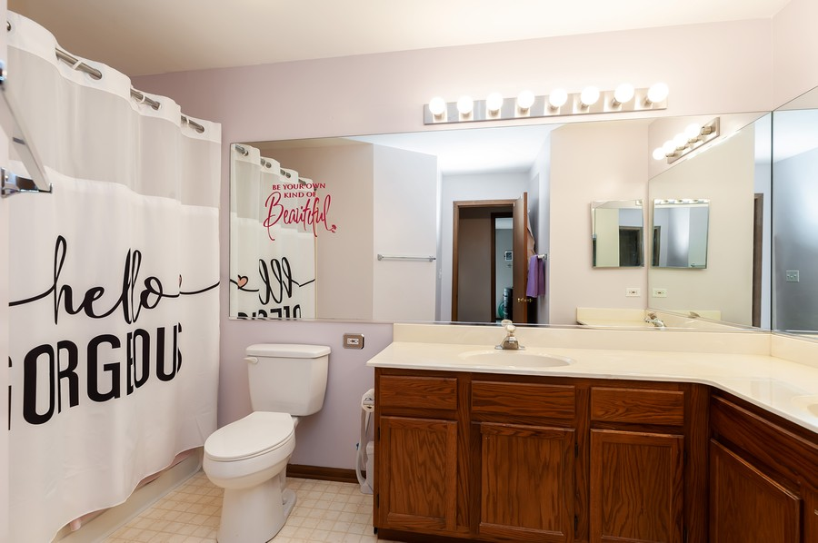 Real Estate Photography - 884 Fox Chase Drive, Round Lake Beach, IL, 60073 - Bathroom