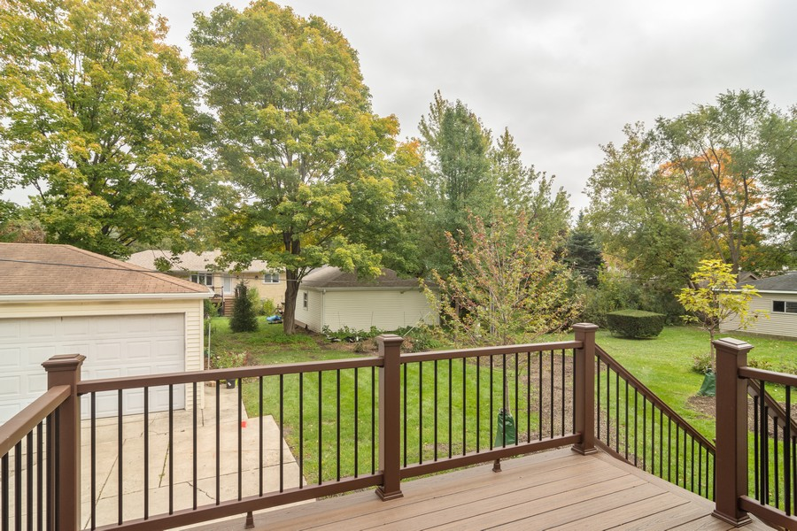 Real Estate Photography - 1001 N Arlington Hts Road, Arlington Heights, IL, 60004 - Deck