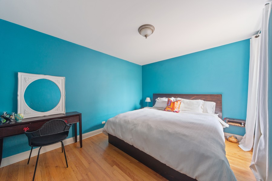 Real Estate Photography - 2735 N. Kimball, #6, Chicago, IL, 60647 - Master Bedroom
