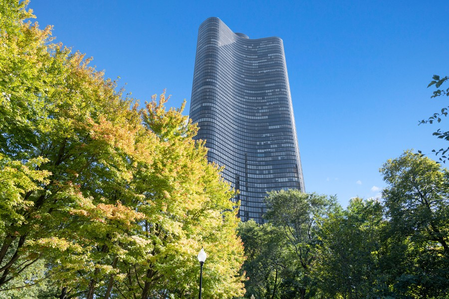 Real Estate Photography - 505 N. Lake Shore Drive, Unit #1606, Chicago, IL, 60611 - Front View