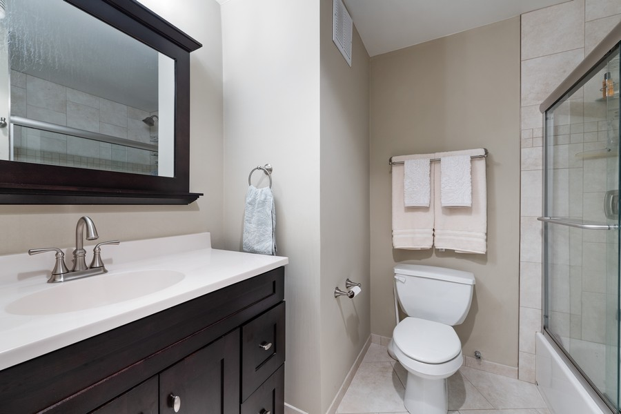 Real Estate Photography - 505 N. Lake Shore Drive, Unit #1606, Chicago, IL, 60611 - Bathroom