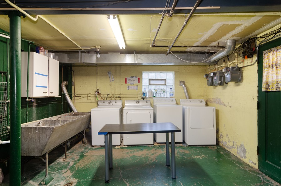 Real Estate Photography - 1728 W. Catalpa, Chicago, IL, 60640 - Laundry Room