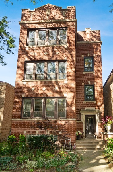 Real Estate Photography - 1728 W. Catalpa, Chicago, IL, 60640 - Front View