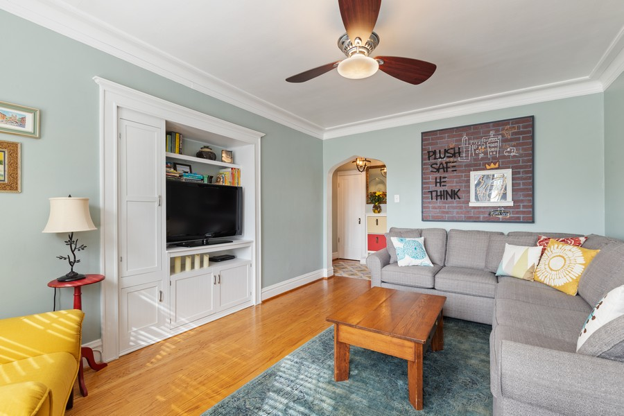 Real Estate Photography - 7229 Adams Street, Unit 2, Forest Park, IL, 60130 - Living Room