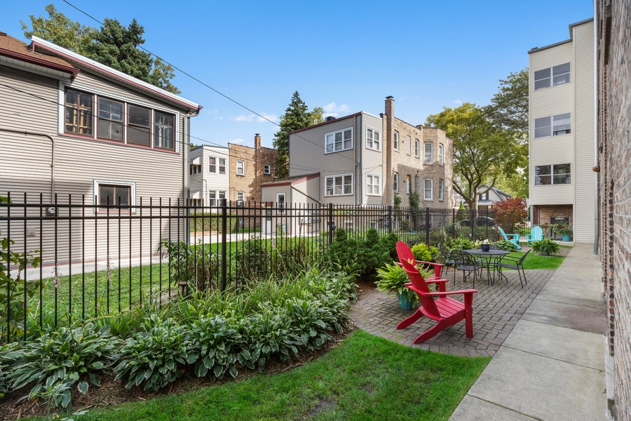 Real Estate Photography - 7229 Adams Street, Unit 2, Forest Park, IL, 60130 - Back Yard