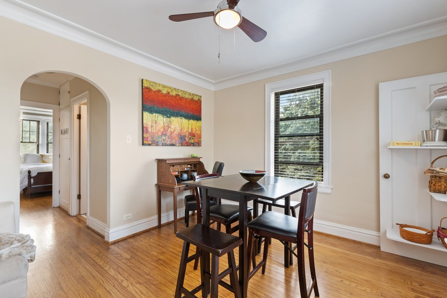 Real Estate Photography - 7229 Adams Street, Unit 2, Forest Park, IL, 60130 - Dining Room