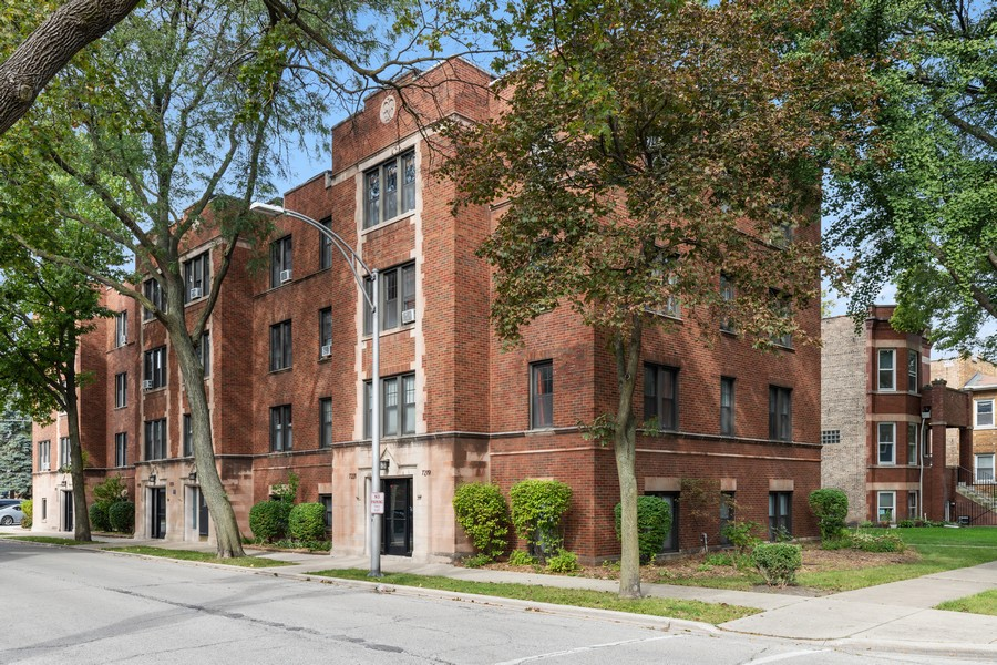 Real Estate Photography - 7229 Adams Street, Unit 2, Forest Park, IL, 60130 - Front View