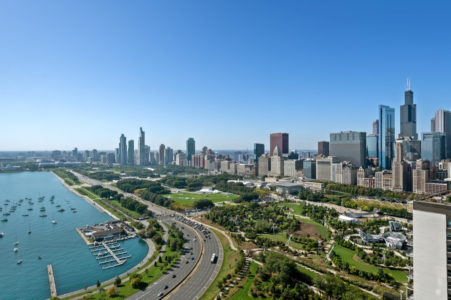 Real Estate Photography - 155 N Harbor Dr, Chicago, IL, 60601 - View