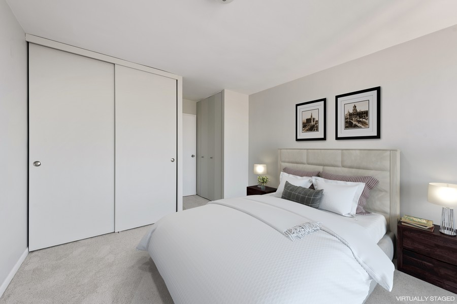 Real Estate Photography - 155 N Harbor Dr, Chicago, IL, 60601 - 2nd Bedroom
