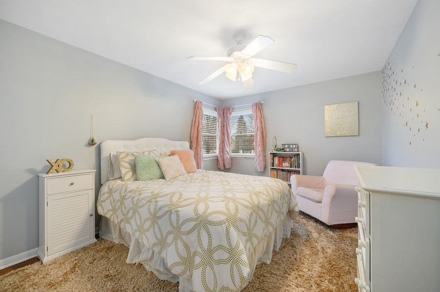Real Estate Photography - 1606 Longmeadow, Glenview, IL, 60026 - 3rd Bedroom
