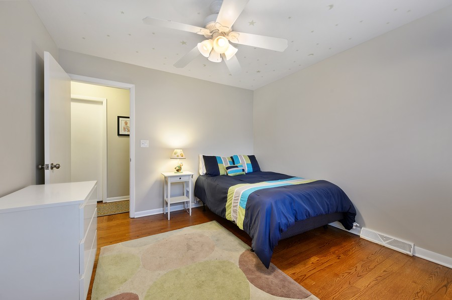 Real Estate Photography - 1606 Longmeadow, Glenview, IL, 60026 - Bedroom