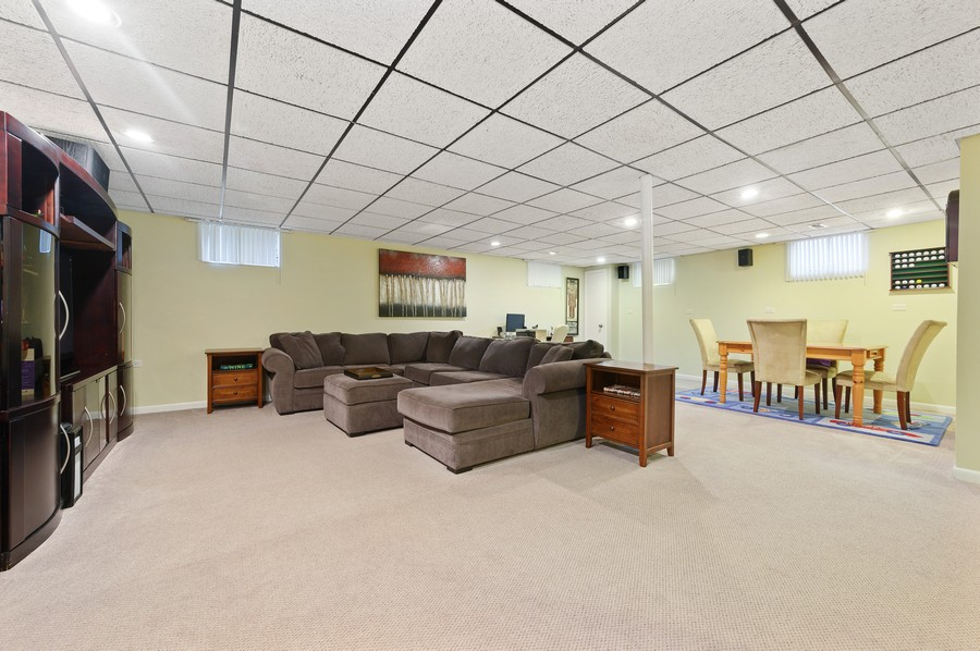 Real Estate Photography - 1606 Longmeadow, Glenview, IL, 60026 - Basement