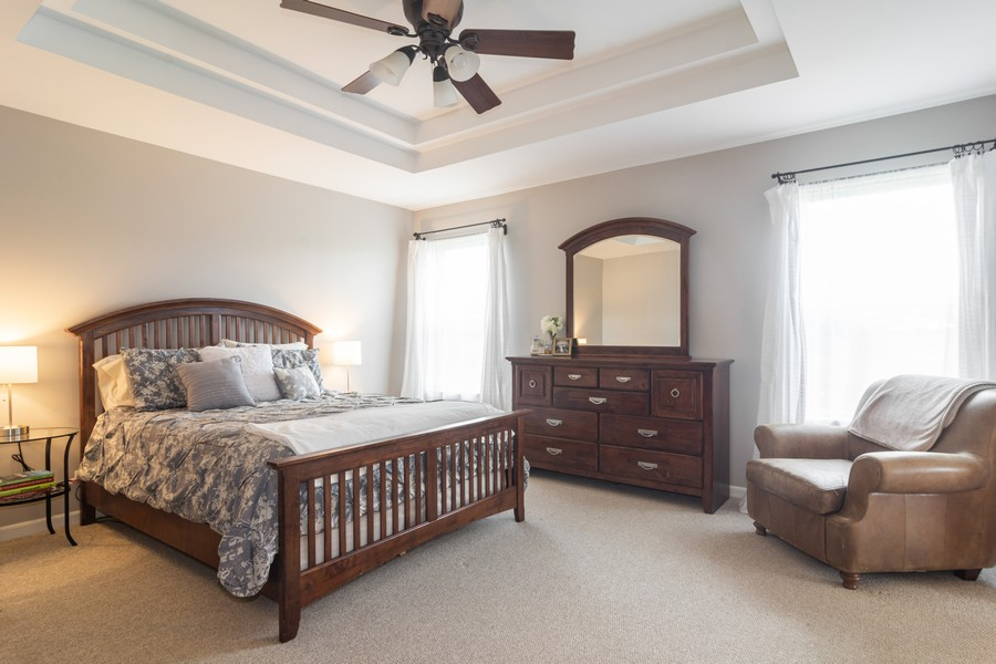 Real Estate Photography - 294 Foxford Drive, Cary, IL, 60013 - Master Bedroom